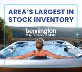 Bennington Mattress & Spas - Pool and Spa Supplies Promo