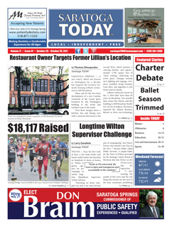 Saratoga Publishing October 10, 2017