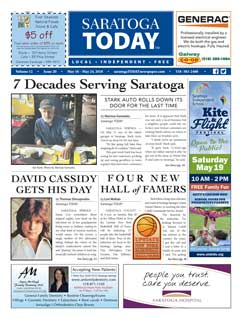 Saratoga Publishing May 18, 2018