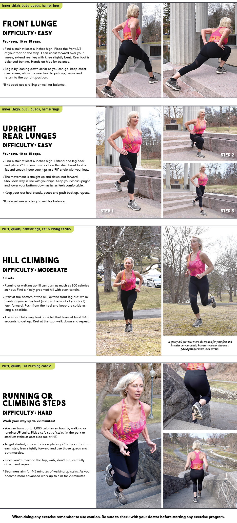 StayHealthySaratoga OutsideExercises