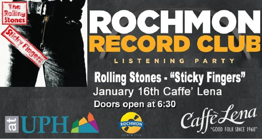 "Satin Shoes and Fancy Boots: Rochmon Unzips Rolling Stones' ""Sticky Fingers"" at Caffe Lena Tuesday"