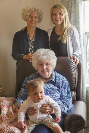 Four Generations: A Mother's Day Celebration