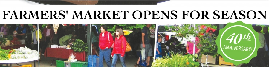Better and Better Every Year: Saratoga Farmers' Market Celebrates 40th Anniversary
