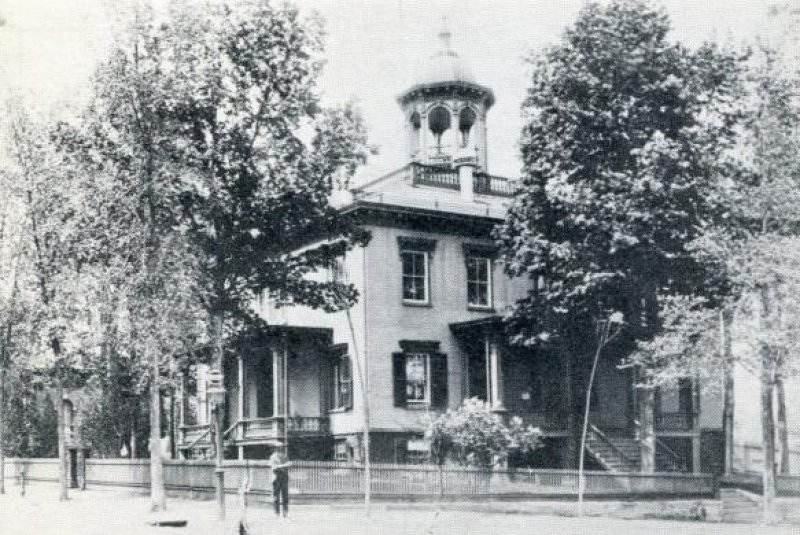 Saratoga County Courthouse, built 1819. Photo provided by The Saratoga County History Roundtable.
