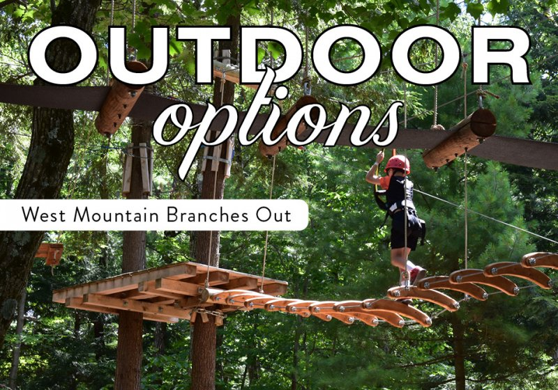 Outdoor Options: West Mountain Branches Out