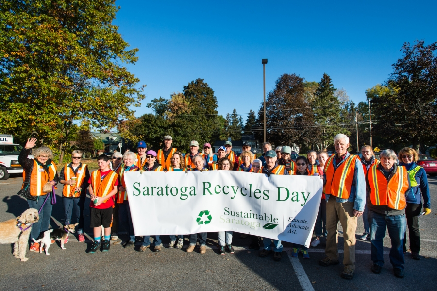 Sustainable Saratoga Recycling Day