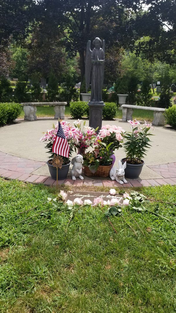 Marylou Whitney Gravesite Honored