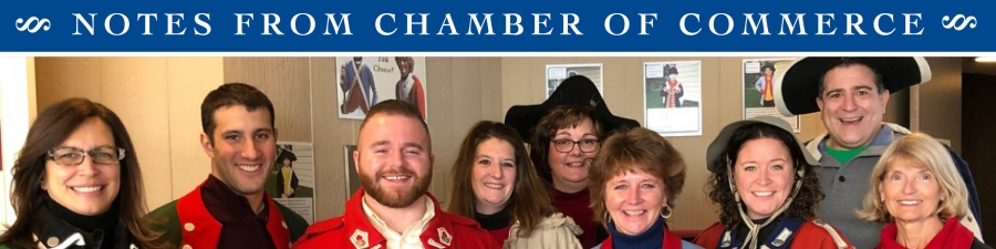 The Chamber's professional staff enjoys visiting members throughout the year such as he Saratoga National Historical Park's visitor center. Photo by Richard Snyder.