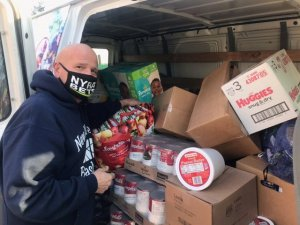 Local Food Donations for New York Race Track Chaplaincy