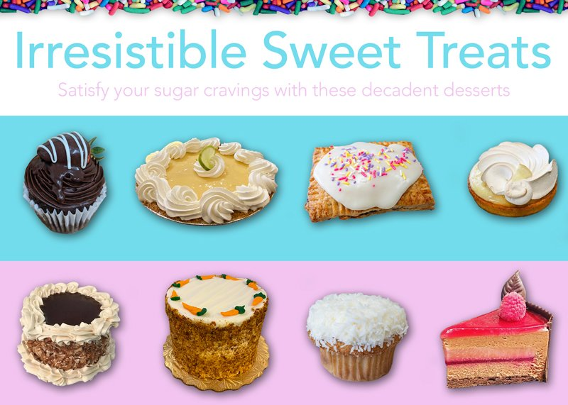 Irresistible Sweet Treats