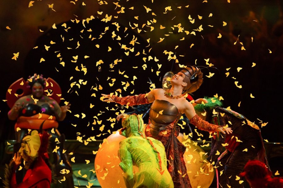 Cirque du Soleil Brings Show to the Region