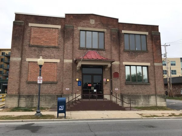 The Woodlawn Ave building which will serve as a homeless outreach center.