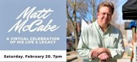 Saturday, Feb. 20: Saratoga Springs Celebrates Matt McCabe