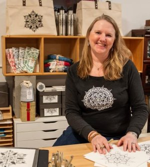 Inspired By Patterns in Nature, Local Woman's Designs Help Nourish Kids