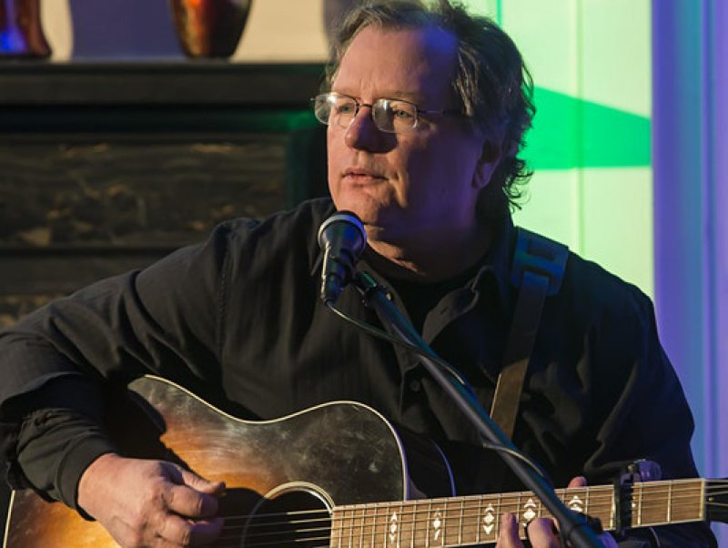 Saratoga songwriting legend Michael Jerling performs at Caffe Lena  Saturday night. Photo provided.