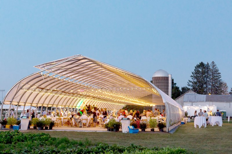Performances to be held in Pitney Meadows Community Farm's High Tunnel Greenhouse. Photo provided.