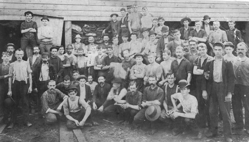 Bull's Head Tannery Employees in Ballston Spa. Photo provided.